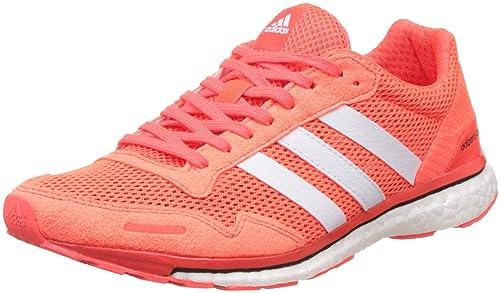 cheaper 43e7b 10acf adidas Adizero Adios 3 W, Zapatillas de Running para Mujer, Rojo  (Rojsol Ftwbla Negbas), 42 2 3 EU  Amazon.es  Zapatos y complementos