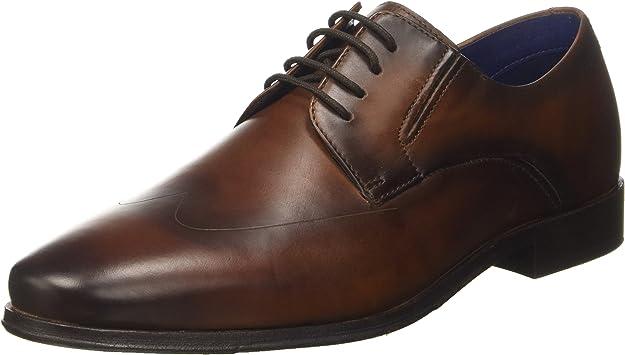 TALLA 43 EU. bugatti 311453021100, Zapatos de Cordones Derby para Hombre