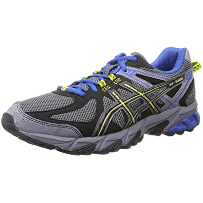 Amazon.com | ASICS Men's Gel-Sonoma (4E) Running Shoe, Titanium/Black/Royal, 8 4E US | Trail Running