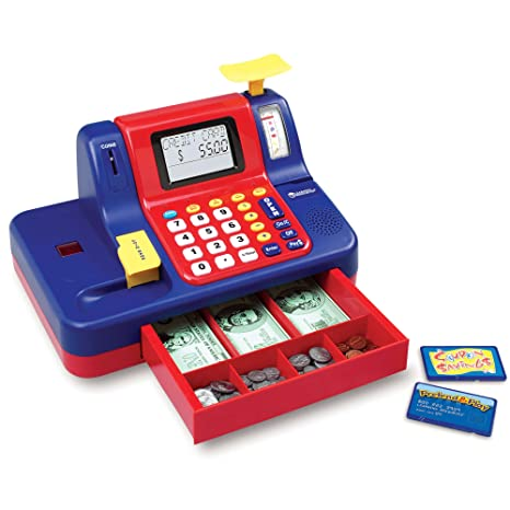 Amazoncom Learning Resources Pretend Play Teaching Cash Register
