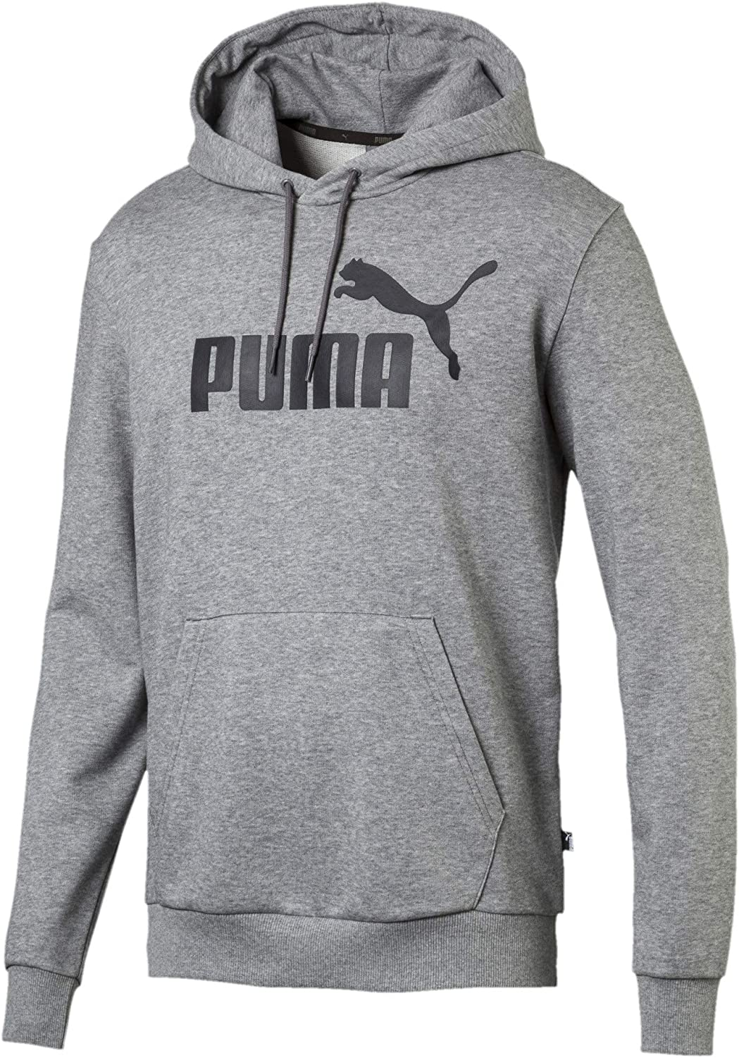 PUMA Men's Essentials Hoody French Terry Big Logo at  Men's Clothing store