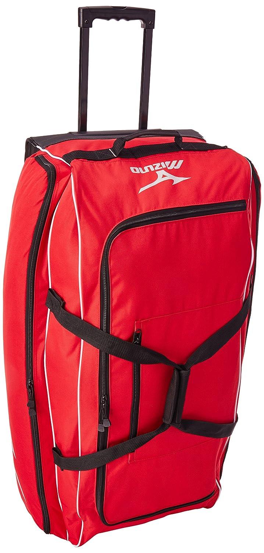 Mizuno Equipment Wheel Bag, 36 x 15 x 15, Black 36 x 15 x 15 360178.9090.01.0000