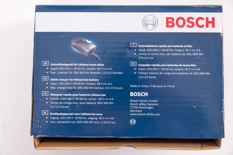 Cargador rápido Bosch para bicicleta eléctrica, de viaje: Amazon.es: Deportes y aire libre