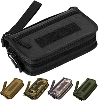 New 1000D Nylon Unisex Tactical Outdoor Military Wallet ID Card Holder
