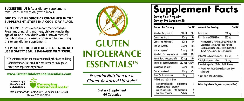 Amazon.com: Gluten Intolerancia Essentials: Health ...