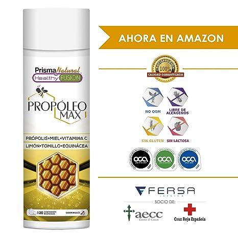 PROPOLIS - Propóleo masticable con Miel, Vitamina C y Tomillo - Protege y Aumenta las