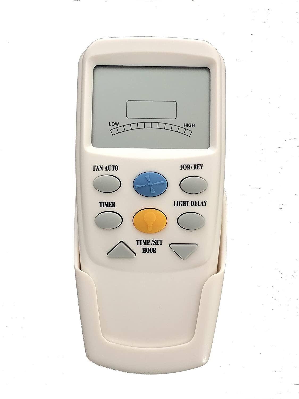Hampton Bay CHQ7096T Remote Control with YELLOW light button