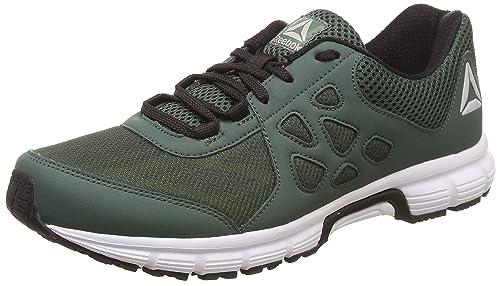 2ae8347b54da55 Reebok Men s Sprint Affect Xtreme Lp Chalk Green Blk Running Shoes-14 UK