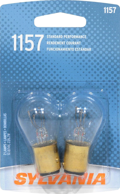 Sylvania 1157.BP2 CARD 2 LAMPS