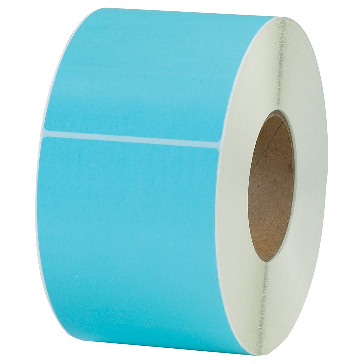 Boxes Fast Thermal Transfer Labels Pack of 4 4 x 6 Light Blue,