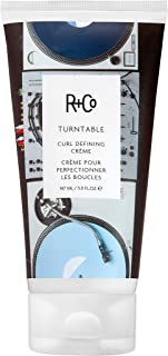 product image for R+Co Turntable Curl Defining Cream, Lightweight Moisturizer for Defined and Shiny Curls, 5 Fl Oz
