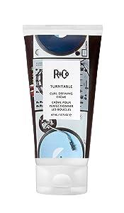 R+Co Turn Table Curl Defining Cream, 5 Fl Oz