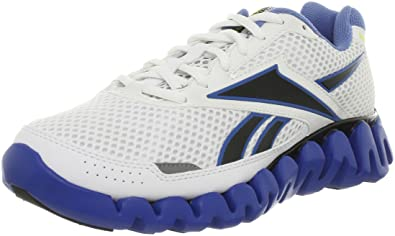 375cd4b1c97d Reebok Men s Zigtech Zig ZigBlaze 2 Running Trainers Shoes white   blue    black   sun