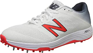 New Balance CK10 Scarpa da Cricket, Bianco, 45.5 CK10WB3