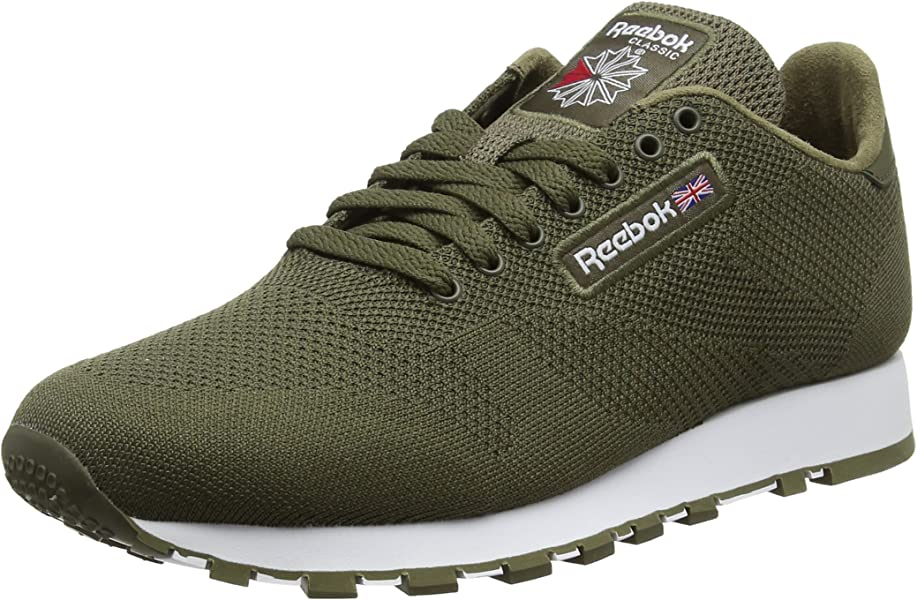 UltraknitSneakers HommeVertArmy Reebok Classic Leather Basses D2IEHYW9