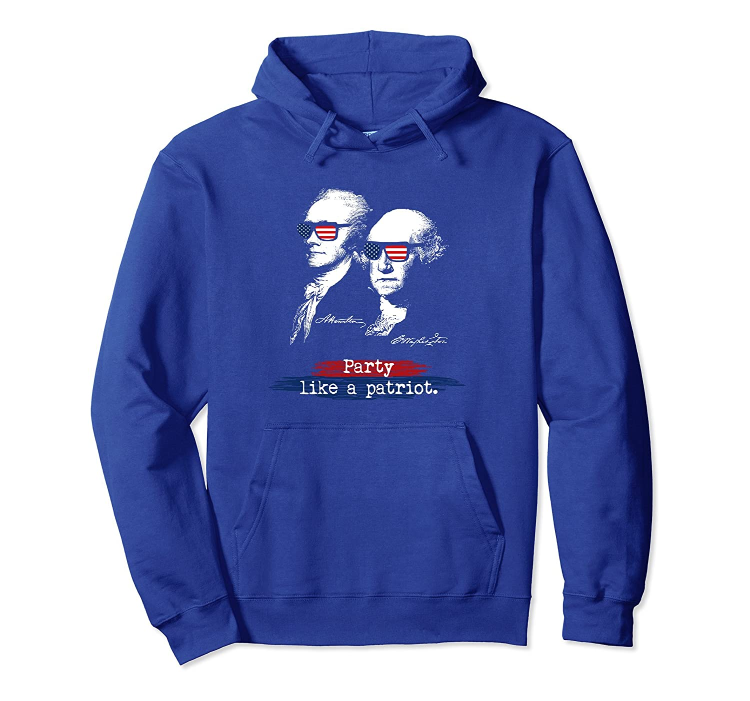 4th Of July Independence Day, Party Like A Patriot Hoodie-anz