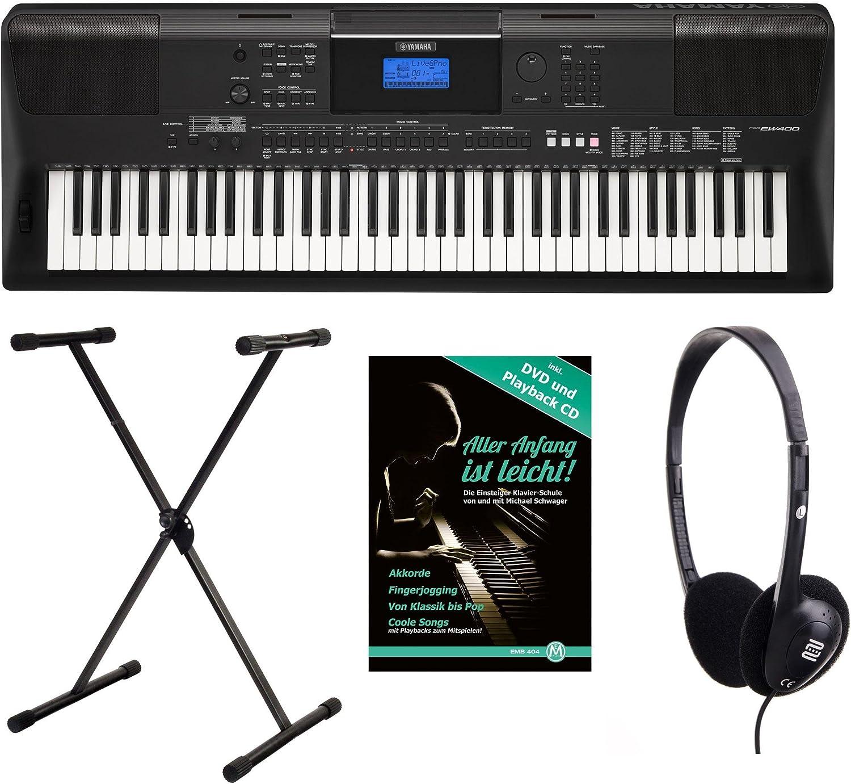 Yamaha PSR EW de 400 Keyboard Set (76 teclas, Pulsación ...