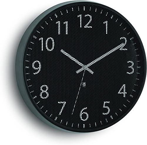 Umbra Perftime Wall Clock, Black