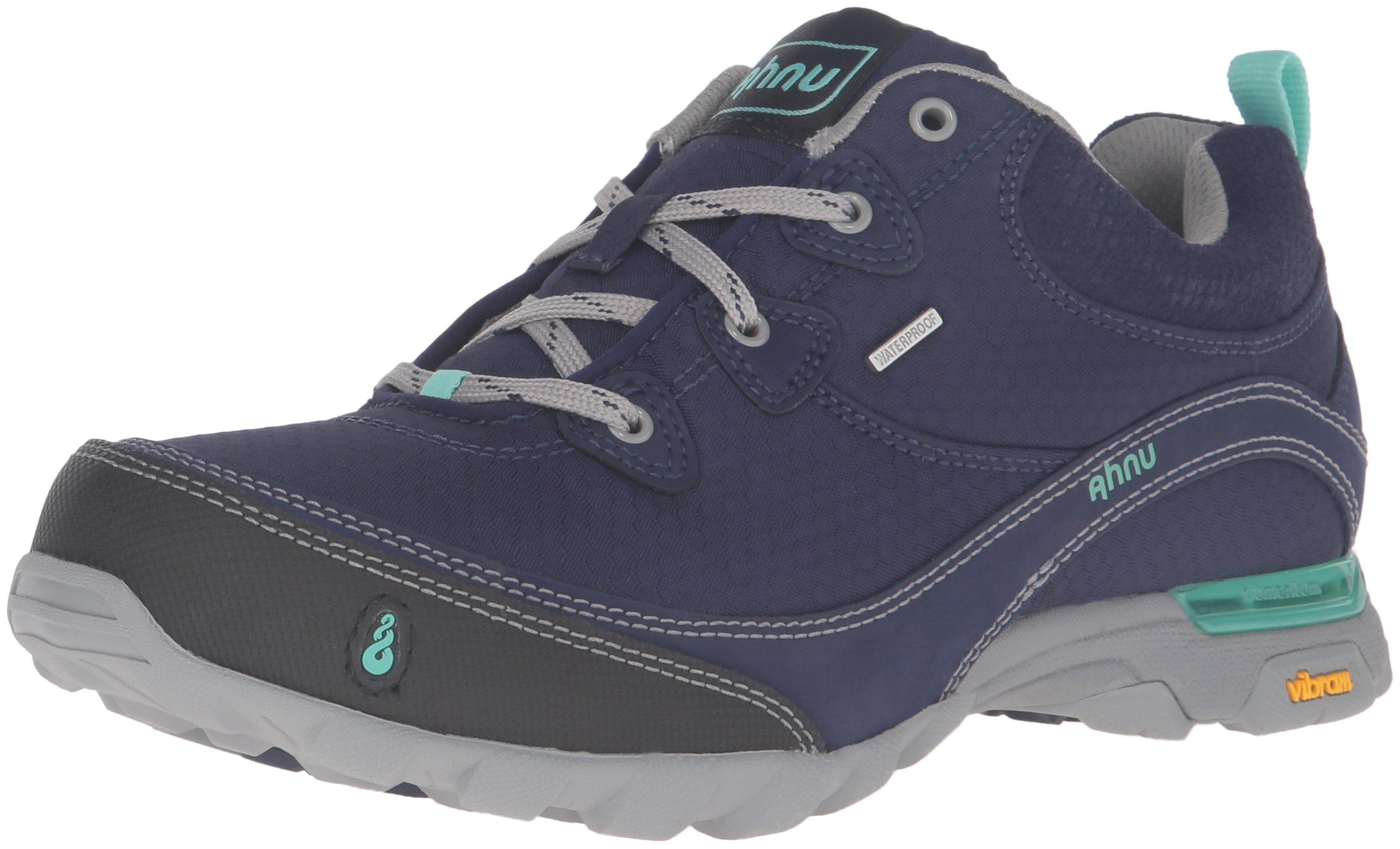 Ahnu Women's W Sugarpine Waterproof Hiking Shoe, Majestic Blue, 10 M US