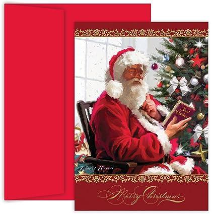 Amazon masterpiece studios holiday collection santas list masterpiece studios holiday collection santas list greetings 18 cardsenvelopes 870000 m4hsunfo