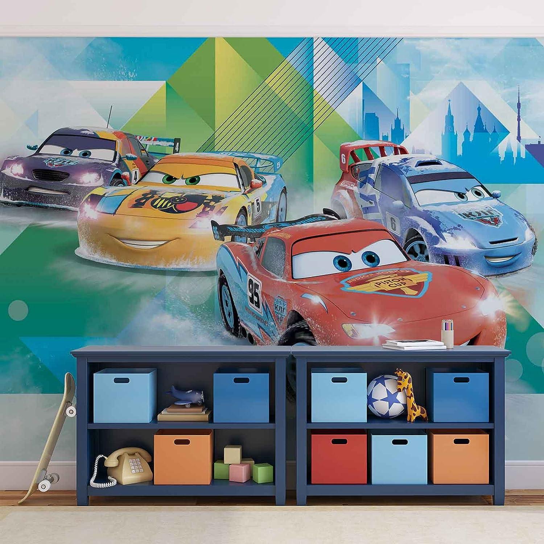 ForWall Cars Disney Fototapete Vlies Tapete Vliestapete Design ...