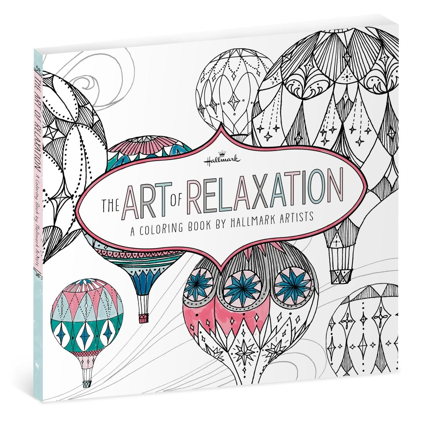 Download The Art of Relaxation—A Coloring Book by Hallmark Artists ebook