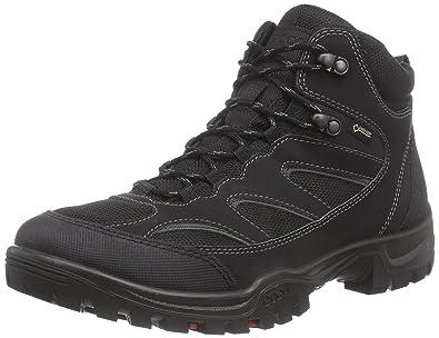 Ecco Xpedition III, Chaussures de Randonnée Basses Homme, Noir (53859Black/Black), 45 EU