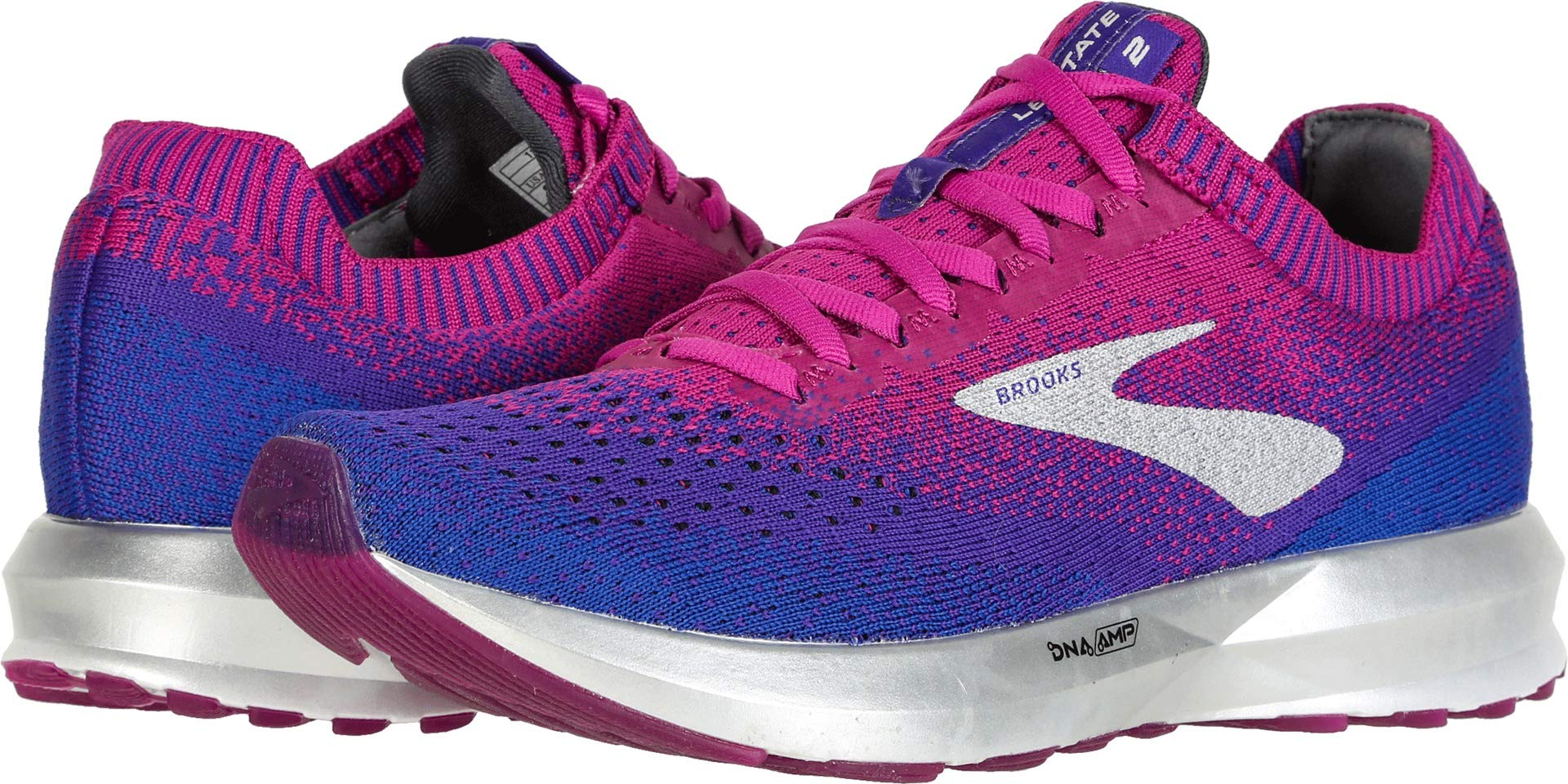 Brooks Women's Levitate 2 Aster/Purple/Blue 5 B US by Brooks