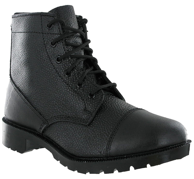 cadet 6 eye toe cap boots atc ccf amazon co uk shoes bags