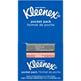 Kleenex 3-Ply Pocket Pack Facial Tissues (32 Pack of 10 Tissues)