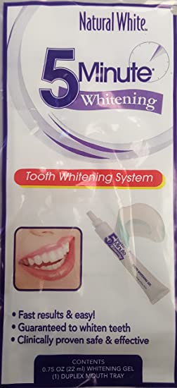 Amazon Com Natural White Lornamead 5 Minute Tooth Whitening