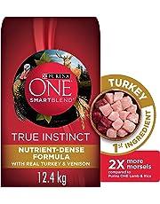 Purina ONE True Instinct Natural Dry Dog Food; Turkey & Venison Formula - 12.4 kg Bag