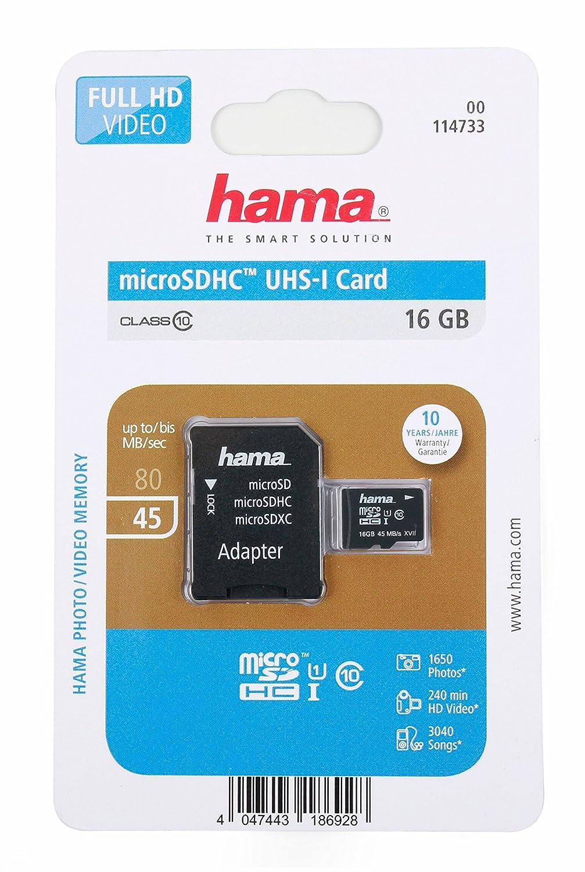 Tarjeta microSD 16 Gb para Wiko Jerry Max y Lenny 3 Max 5 ...