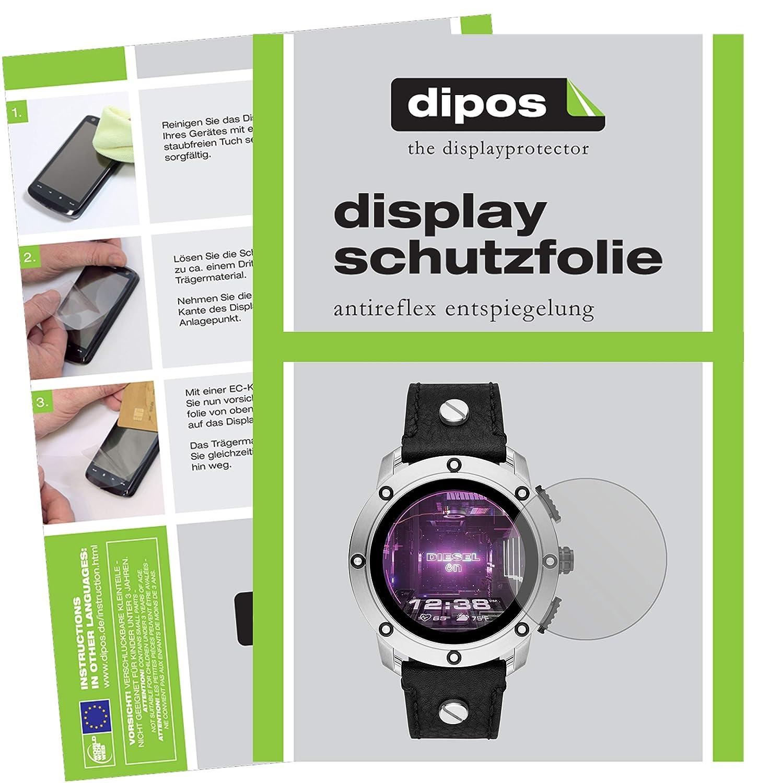 dipos I 2X Protector de Pantalla Mate Compatible con Diesel On ...