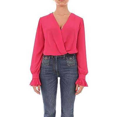 Elisabetta Franchi cb06596e2 Camisa Mujer 40: Ropa y accesorios