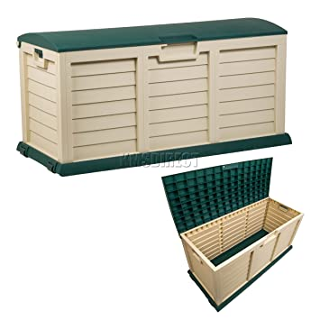 Starplast Outdoor Garden Plastic Storage Utility Chest Cushion Shed