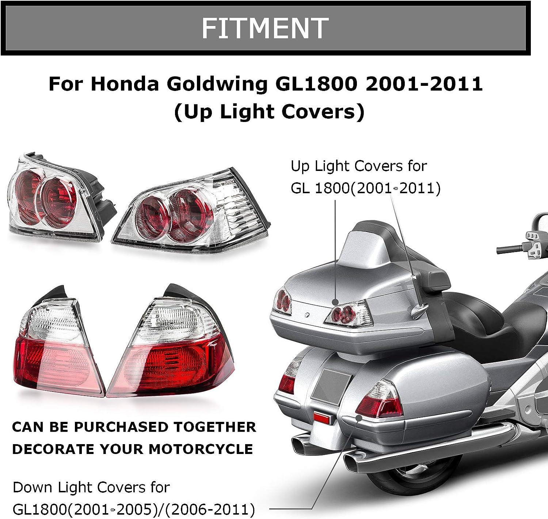 LED Light Trunk Lid Handle For Honda Gold Wing GL 1800  GL1800 2001-2017 2015 16