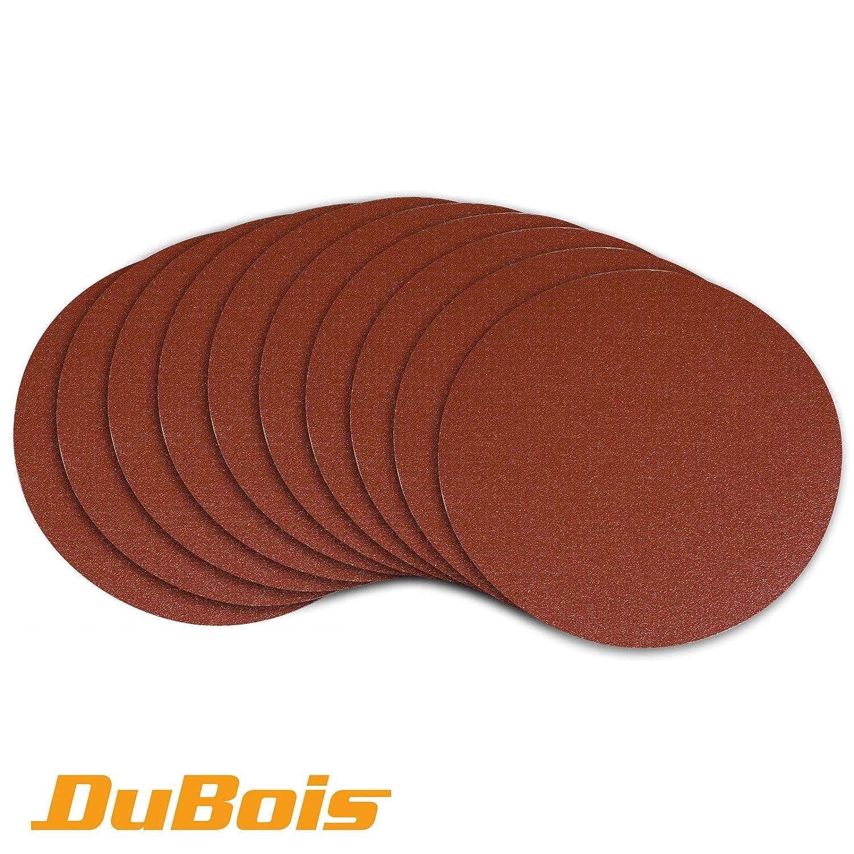 DuBois R110230 150 mm - 180 Grit PSA Aluminum Oxide Self Adhesive Sanding Discs, 10-Pack