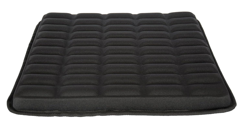 Sitzkissen GEL-SEAT-002 / Sitzkissen / gerilltes Sitzkissen / Steißbein Kissen/ AngelAid / Anti-Dekubitus Kissen / Lycra + GEL+ Memory Foam / Standardgröße 40,5 x 40,5 x 4,5 cm /
