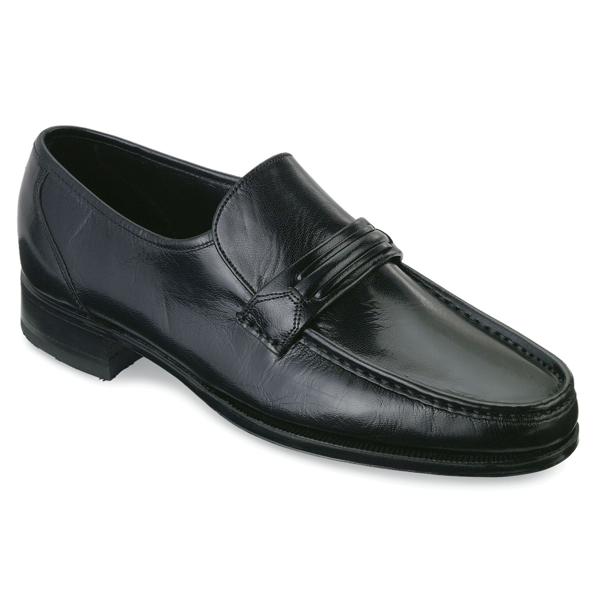Florsheim Mens Como Tassle Black Slip-On - 15 D
