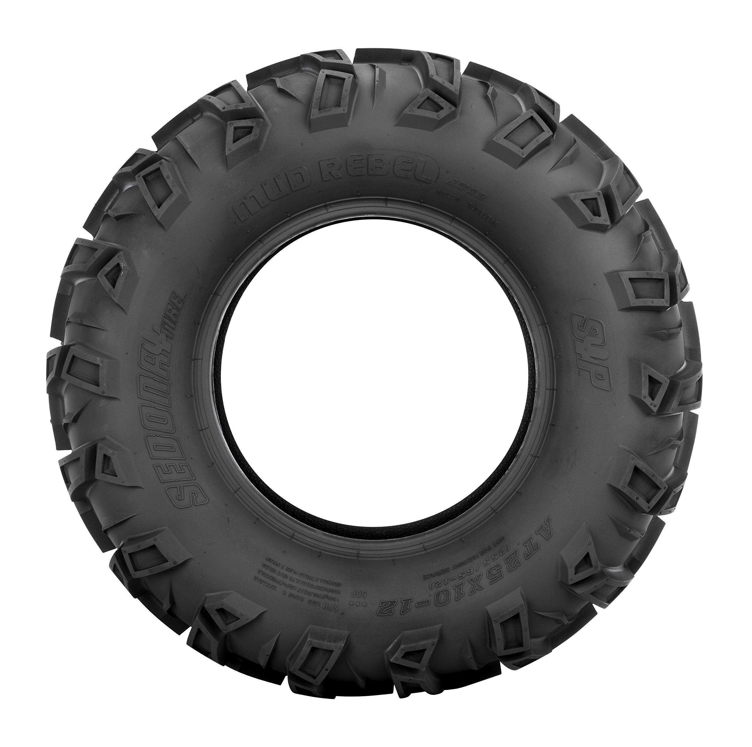 Sedona Mud Rebel Front Tire - 22x8-10, Position: Front, Rim Size: 10, Tire Application: All-Terrain, Tire Size: 22x8x10, Tire Type: ATV/UTV, Tire Ply: 6 MR22810