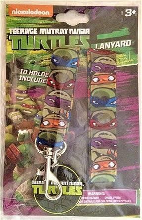 Teenage Mutant Ninja Turtles Lanyard with Charm at Amazons ...
