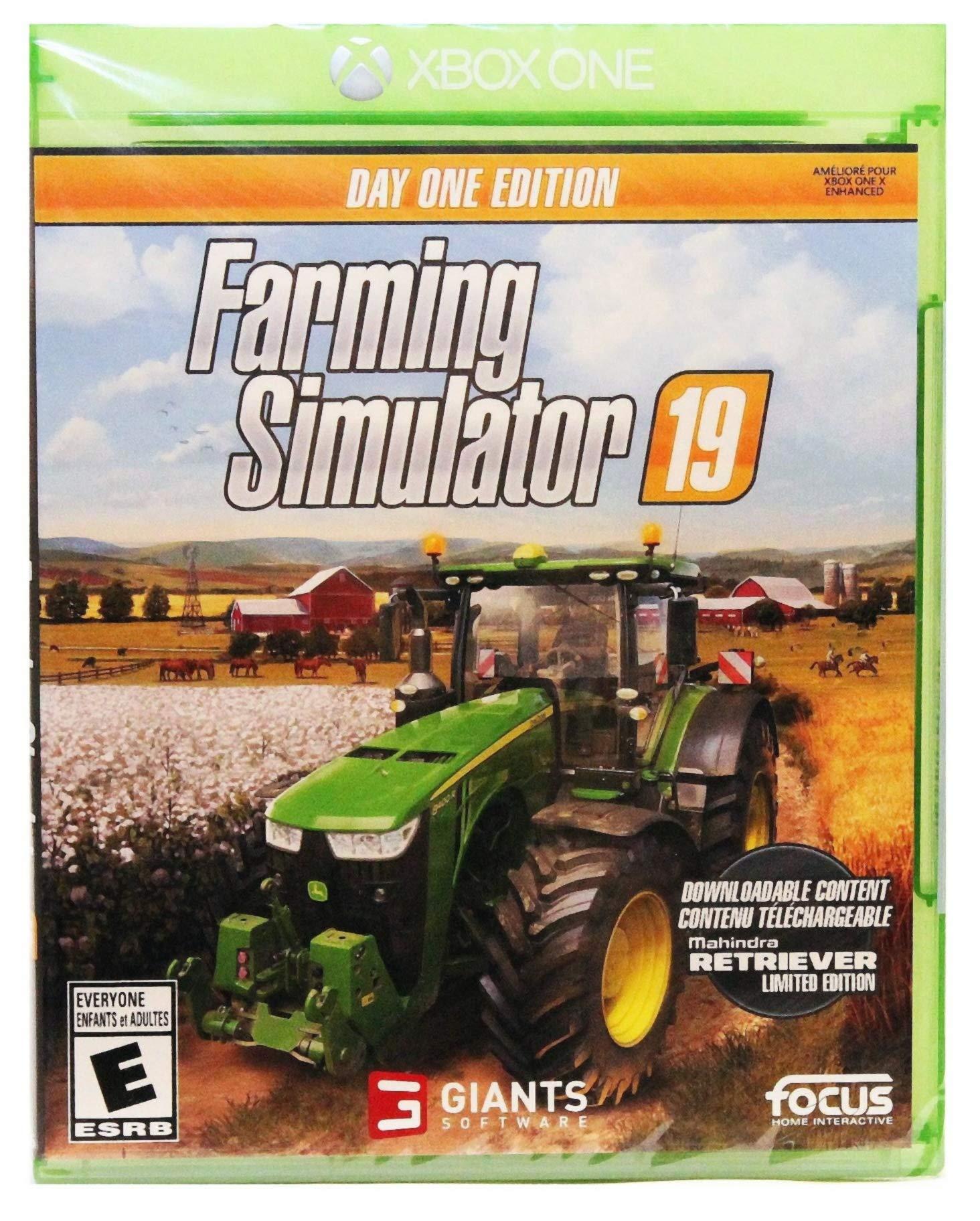 Farming Simulator 19 - Day One Edition Xbox One [US Version] - Mahindra Retriever DLC