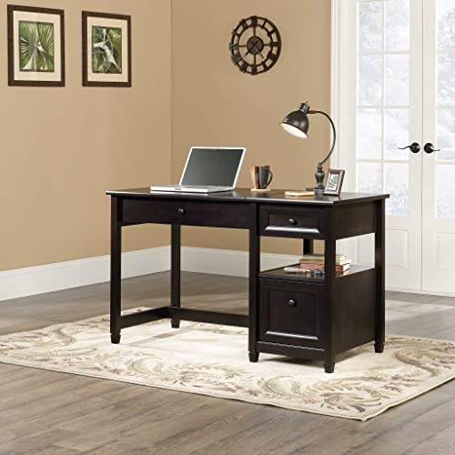 Sauder Edge Water Lift Top Desk, Estate Black finish