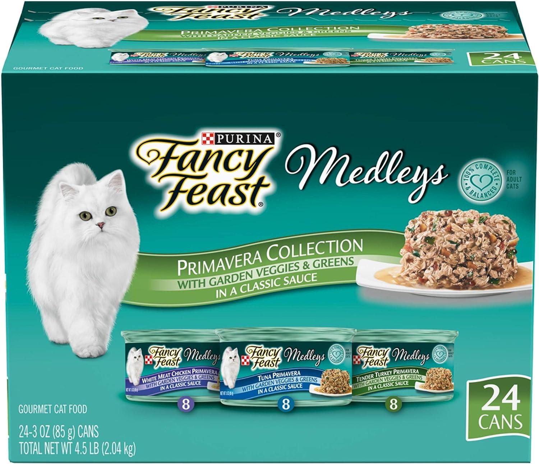 Purina Fancy Feast Medleys Adult Wet Cat Food Variety Pack