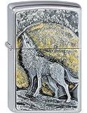 Zippo 1300003Briquet à motif Wolf at Moonlight