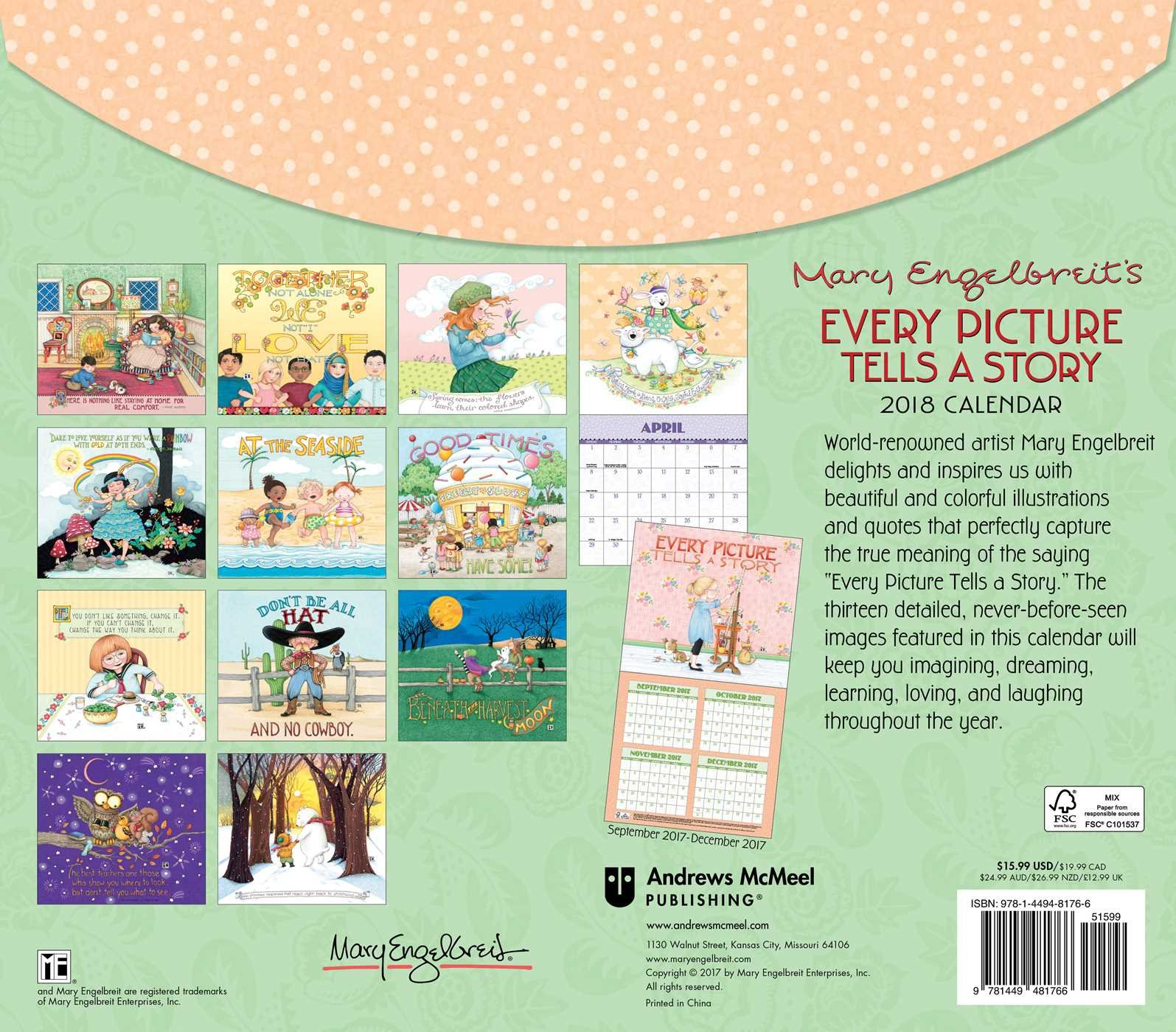Mary engelbreit 2018 deluxe wall calendar every picture tells a mary engelbreit 2018 deluxe wall calendar every picture tells a story mary engelbreit 9781449481766 amazon books bookmarktalkfo Image collections
