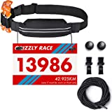 Amazon.com : FuelBelt Gel Ready Race Number Belt, Surf