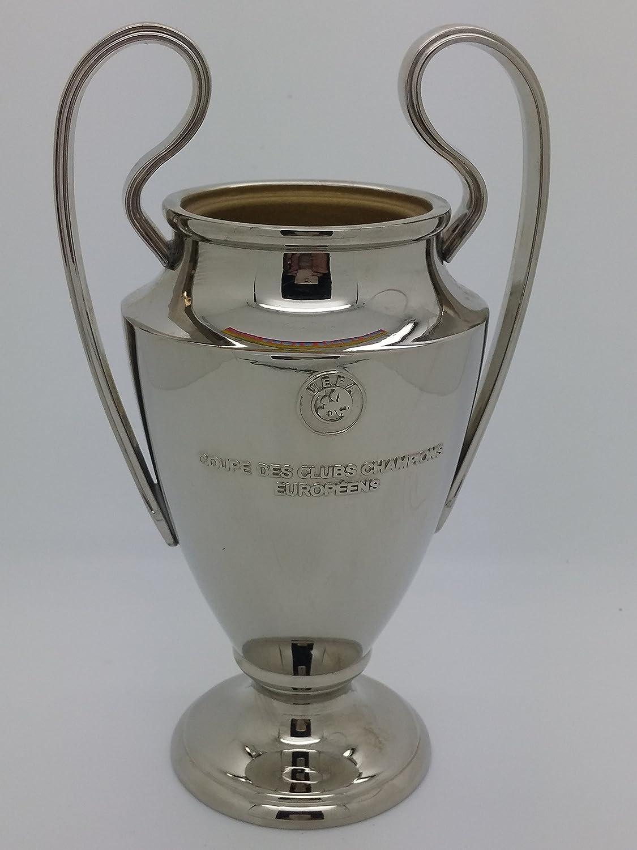 bal/ón dorado brillante y satinado sobre base plateada /Fabricado en Italia Altura 20 cm/ /Bien acabado/ Trofeo de f/útbol