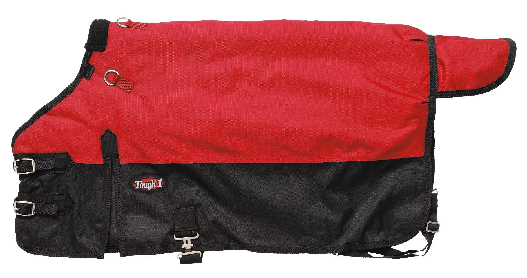 Tough 1 Polar 600D Waterproof Poly Foal Blanket, Red, Large